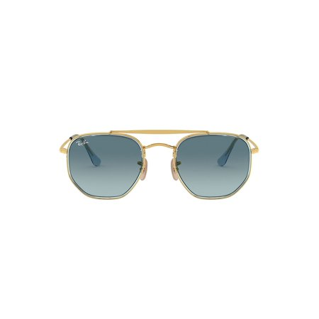 RB3648 52MM Geometric Aviator Sunglasses ()