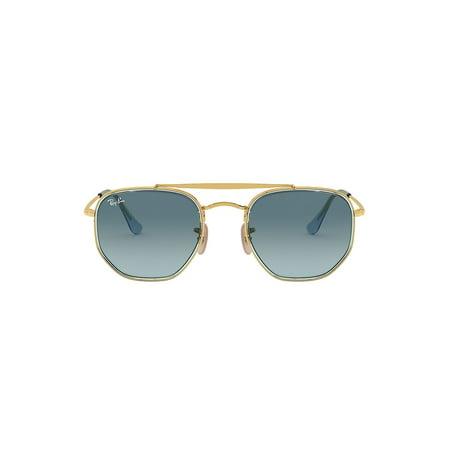 RB3648 52MM Geometric Aviator Sunglasses