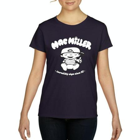 da5099c31 Artix - Artix Mac Miller Baby Women's T-shirt Tee Clothes - Walmart.com