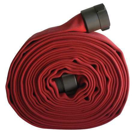 ARMORED TEXTILES G51H175LNR50N Attack Line Fire Hose,400 psi,50 ft. L