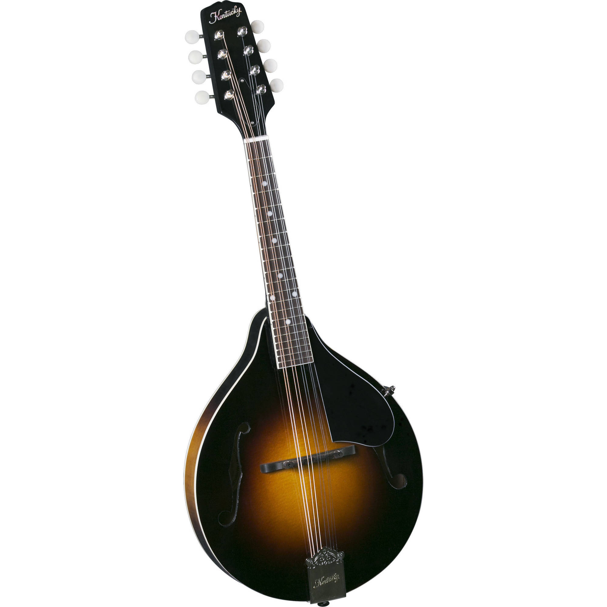 Kentucky KM-150 Standard A-Model Mandolin, Sunburst by Saga Musical Instruments