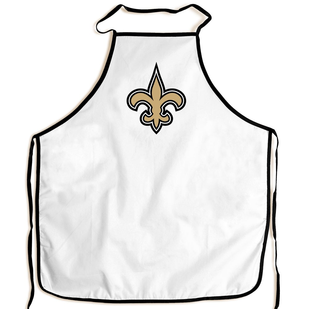 New Orleans Saints Official NFL Adult One Size BBQ Grill Chef's Apron by McArthur