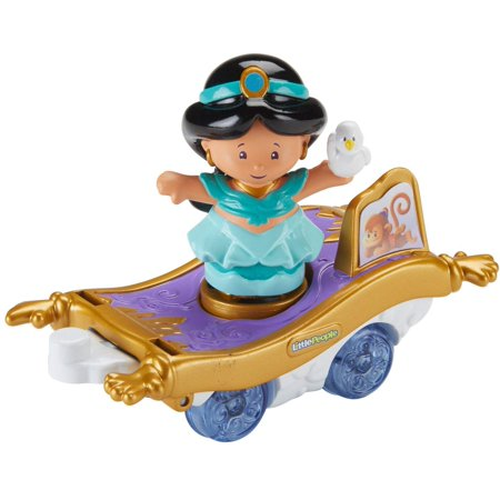 Disney Halloween Parade Times (Fisher-Price Little People Disney Princess Parade Jasmine & Abu's)