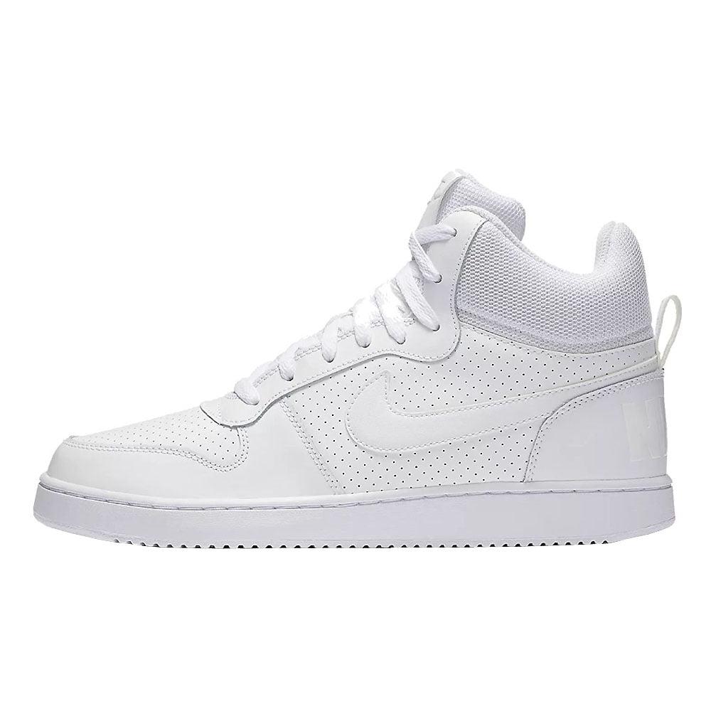 Nike Men's Court Borough Mid Shoes Black/Paramount Blue-White 10 -  Walmart.com