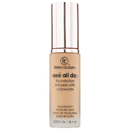 Femme Couture Rose All Day Foundation Tan Deep Tan Deep