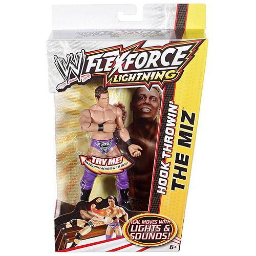 WWE Wrestling FlexForce Lightning The Miz Action Figure