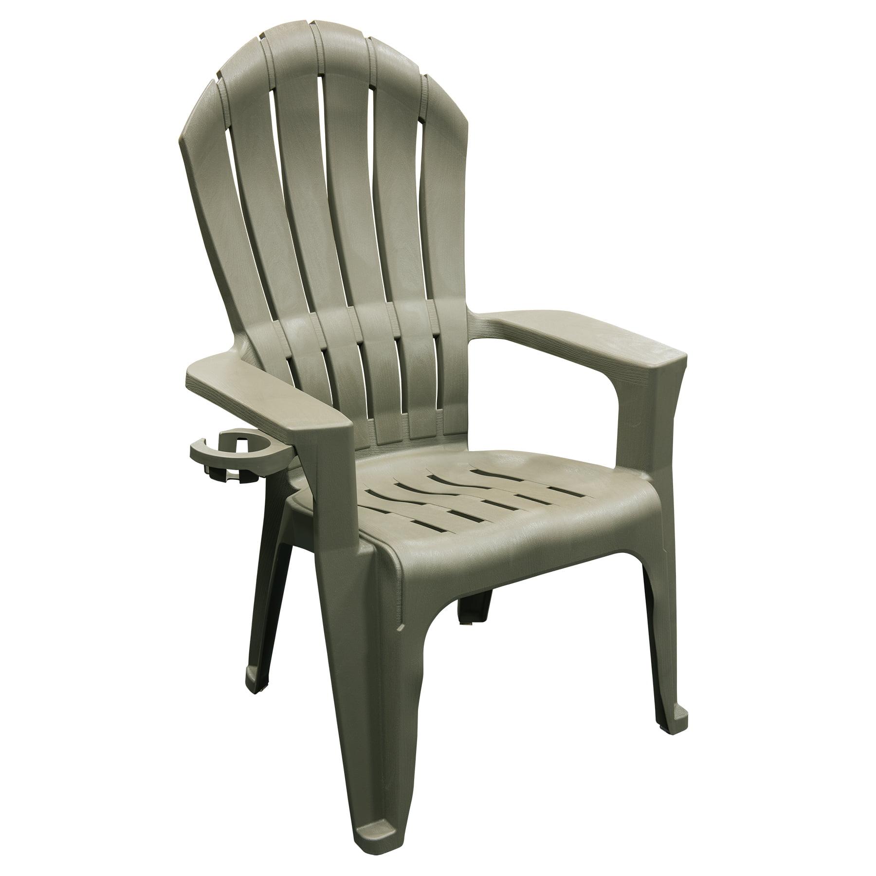 Adams Adirondack Real Comfort Plastic Rocking Chair Gray