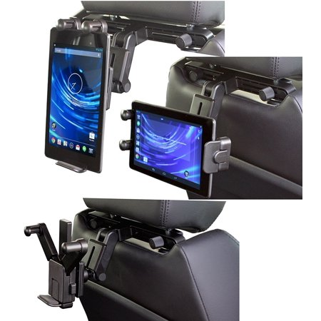 Navitech In Car Back Seat Headrest Mount For The Microsoft Surface