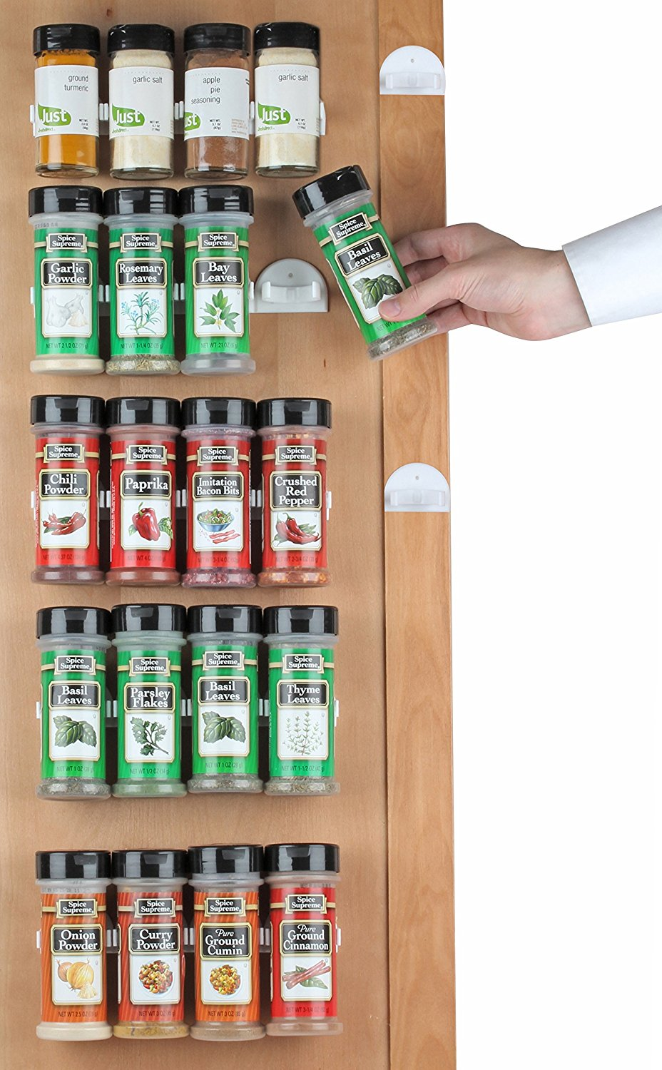 Product Image HousewaresGoods Spice Rack, Spice Racks For 20 Cabinet Door,  Use Spice Clips For Spice