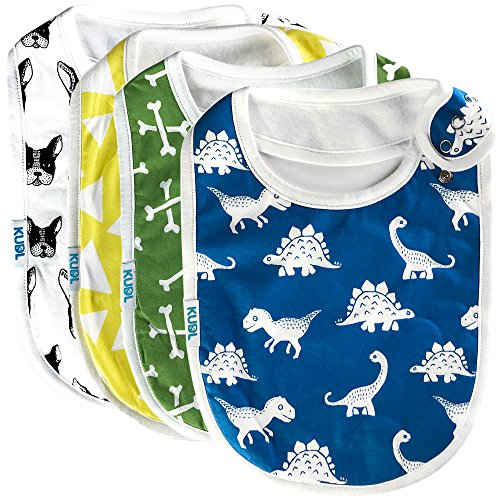 Toddler /& Baby Bibs Burp Cloths I Play Fantasy Football with My Daddy Cotton Items for Girl Boy Gifts Ad White Black Design Only