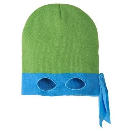 Teenage Mutant Ninja Turtles Leonardo Beanie Hat (1 size, Adult)