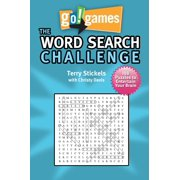 Go!Games The Word Search Challenge : 188 Entertain Your Brain Puzzles