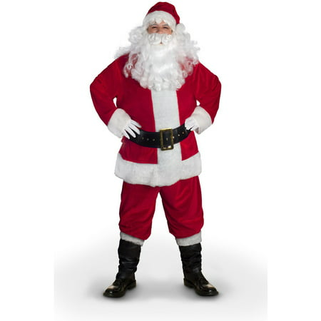 Sunnywood Value Line Santa Claus Costume (Santa Claus Costume For Girls)