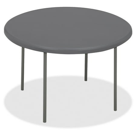 Iceberg Indestructable Too Folding Table - Round Top - Four Leg Base - 4 Legs - 2\