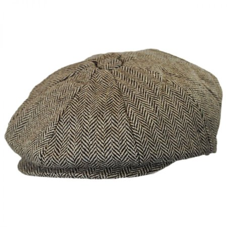 Baby Herringbone Wool Blend Newsboy Cap - 46cm (12-18 M) - Brown -  Walmart.com 6632a5b88c0