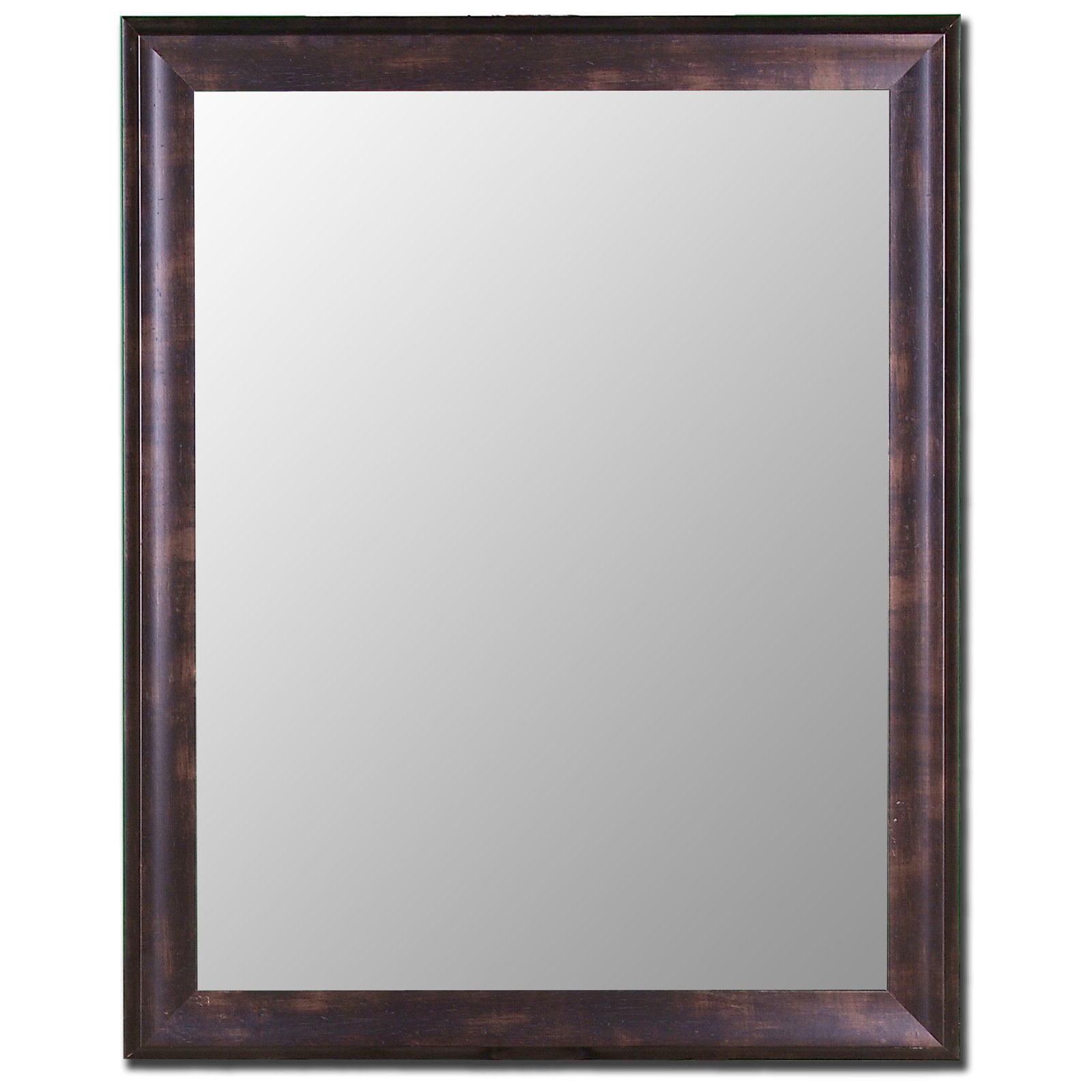 Espresso Walnut Mirror