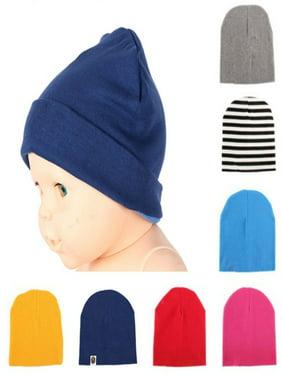 Infant Baby Boy Girls Turban Soft Warm Cotton Hat Beanie Cap Head Wrap