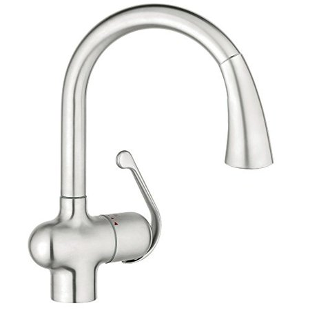 Grohe 33755SD1 LadyLux Single-Handle Kitchen Faucet, (Best Grohe Kitchen Faucets)