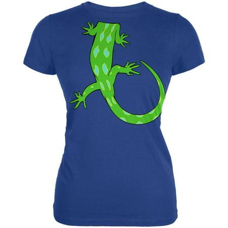 Halloween Lizard Body Costume Juniors Soft T Shirt
