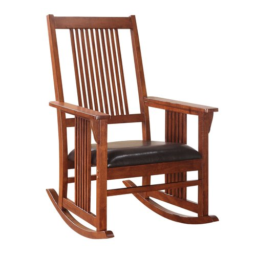 ACME Kaelan Rocking Chair, Tobacco by Overstock