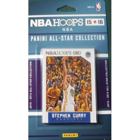2015 2016 Hoops NBA All Stars Collection Special Edition Factory Sealed Basketball Set with Lebron James, Stephen Curry, Kobe Bryant and - Edition Basketball