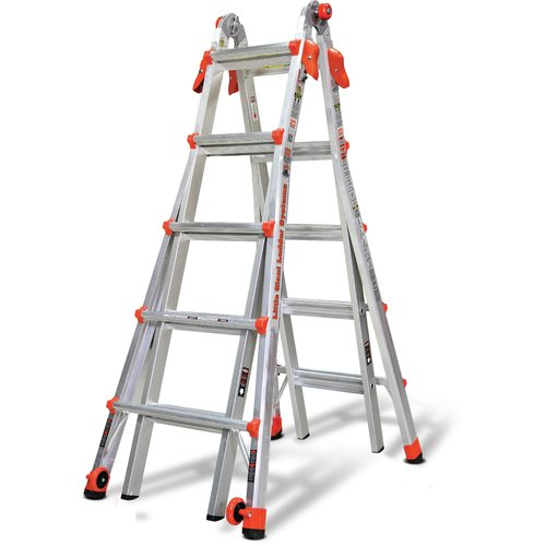 Little Giant Ladder Systems 22 ft Aluminum Multi-Position Ladder by