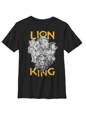 Lion King Boys' Animal Kingdom Crew T-Shirt