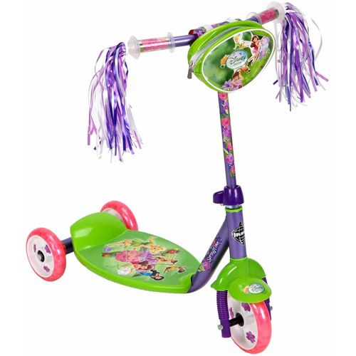 Disney Fairies Preschool Girls' 3-Wheel Scooter, by Huffy by Huffy