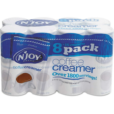 N'Joy Original Powdered Coffee Creamer 16 oz, 8-count