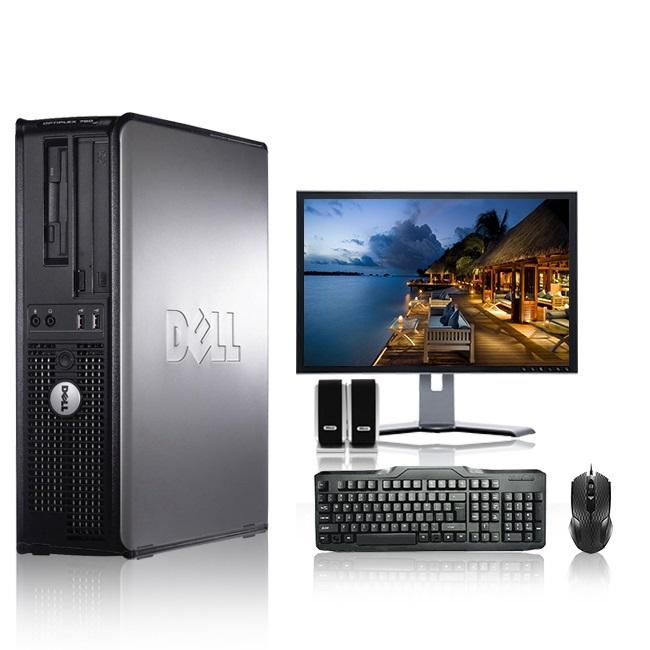 Dell Optiplex Desktop Computer 2.3 GHz Core 2 Duo Tower PC, 4GB RAM, 500 GB HDD, Windows 10