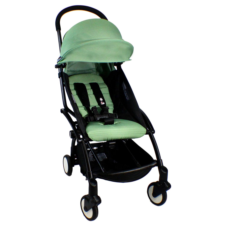Babyzen Yoyo 6+ Stroller, Black/Peppermint - Walmart.com ...