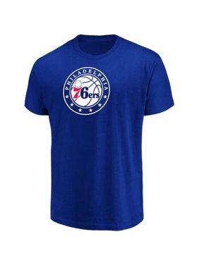 Men's Majestic Royal Philadelphia 76ers Victory Century T-Shirt