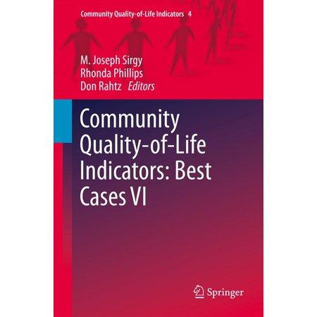 - Community Quality-of-Life Indicators: Best Cases VI - eBook