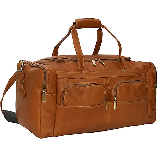 David King 19'' Leather Gym Duffel