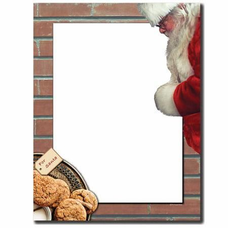 Cookies for Santa Letterhead Laser & Inkjet Printer