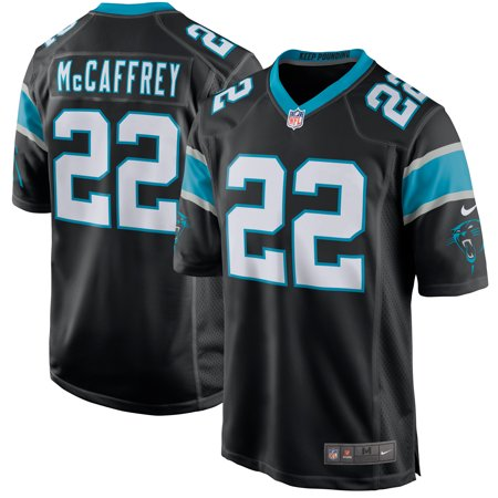 Carolina Panthers Football Jersey (Christian McCaffrey Carolina Panthers Nike Game Jersey - Black)