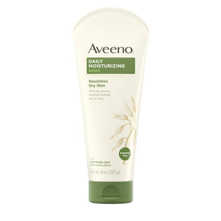 Sandalwood Moisturizing Body Lotion (Aveeno Daily Moisturizing Lotion with Oat for Dry Skin, 8 fl. oz)