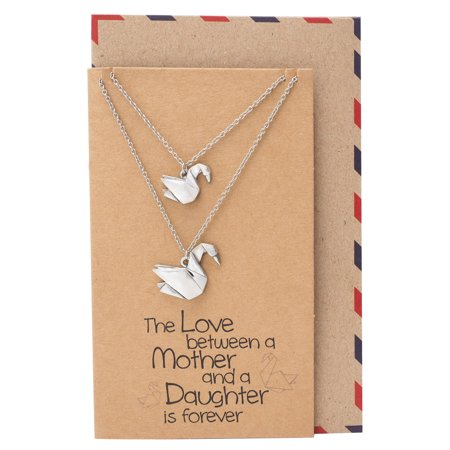 Quan Jewelry - Origami Swans Matching Mother and Daughter ... - photo#29