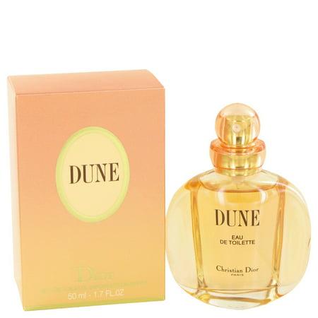 Christian Dior Dune Eau De Toilette Spray Perfume For Women, 1.7 Oz (Lady Dior 2 Sonnenbrille)