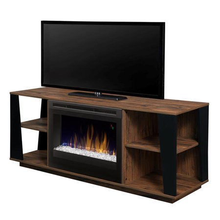 Dimplex Arlo Media Console Fireplace With Glass Ember Bed ()