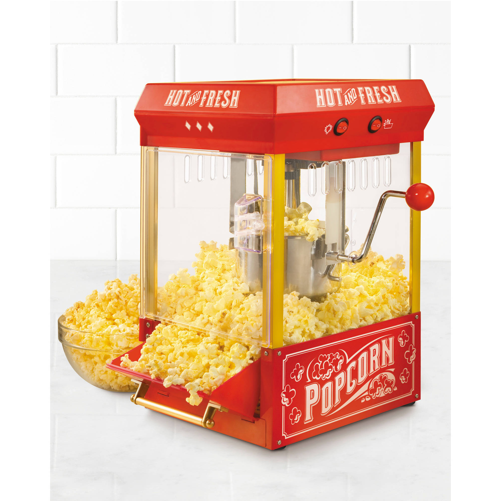 Nostalgia KPM200 Vintage Collection 2.5 oz Kettle Popcorn Popper