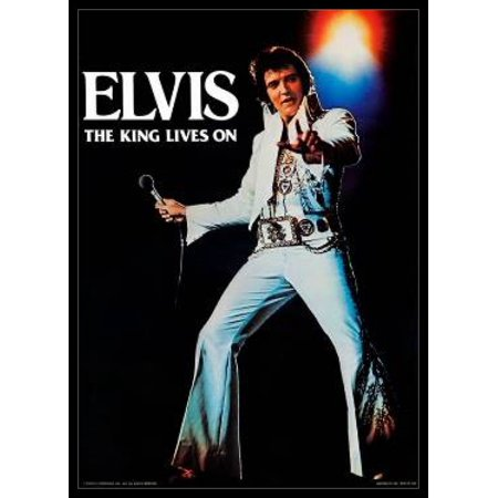 Elvis Presley - The King Lives On Poster Poster Print
