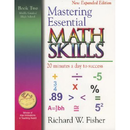 Mastering Essential Math Skills, Book Two, Middle Grades/High School : 20 Minutes a Day to Success](Halloween Math Game Middle School)