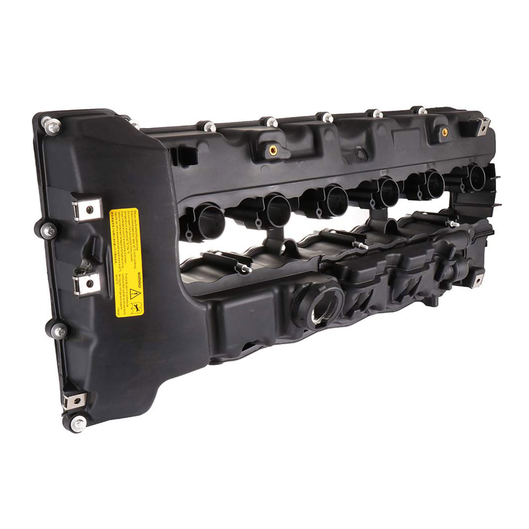 Engine Valve Cover Compatible fit for BMW 535i 135i 335i X6 Z4 N54 Turbo Valve Cover 11127565284