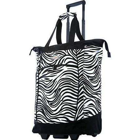 OLYMPIA USA - Olympia U.S.A. Fashionista Rolling Shopper Tote - Walmart.com 7a3a7f723cff5