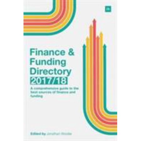 Finance   Funding Directory 17 18