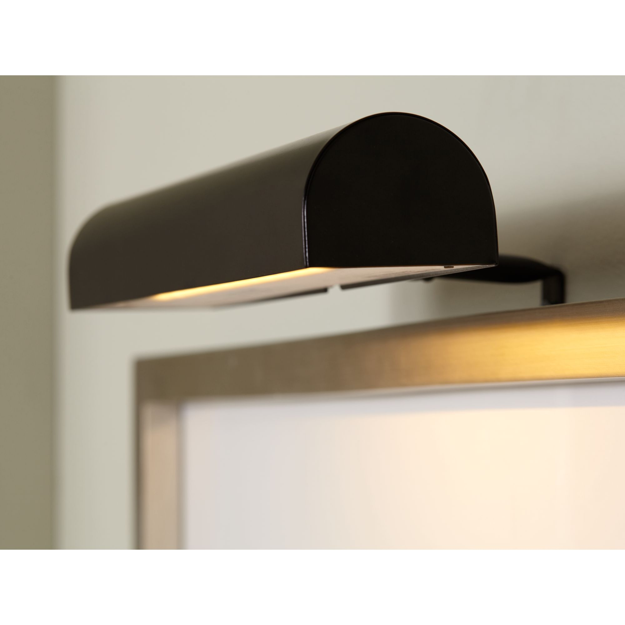 "Concept Lighting Concept 11 1 2"" Wide Black Cordless-Remote Led Picture Light by Concept Lighting"