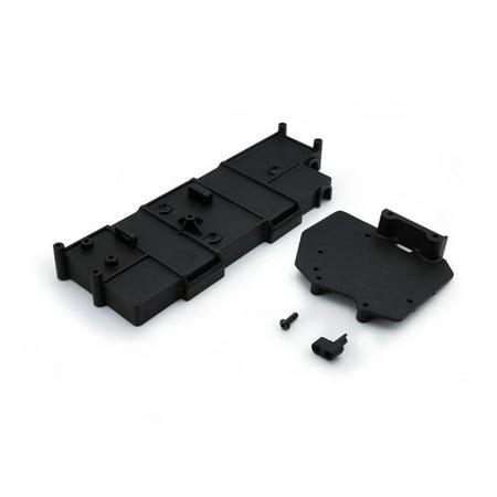 Carisma CIS15829 Battery Box with ESC Mount Plate for SCA-1E Spare Parts Set, Black