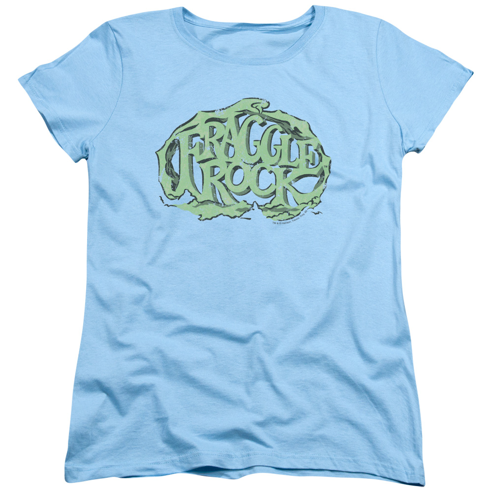 Fraggle Rock Vace Logo Womens Short Sleeve Shirt
