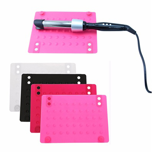 Useful Anti-Heat Mat Heat Resistant Silicone Mat for Straighter/Curling Iron